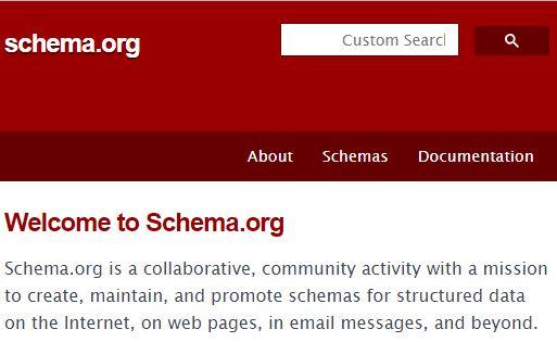 schema home page